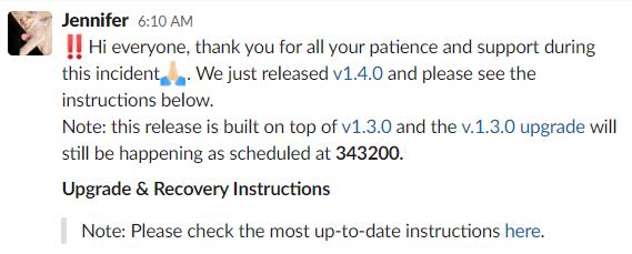 【Filecoin周报-79】Filecoin发布Lotus1.4.0版本修复网络故障