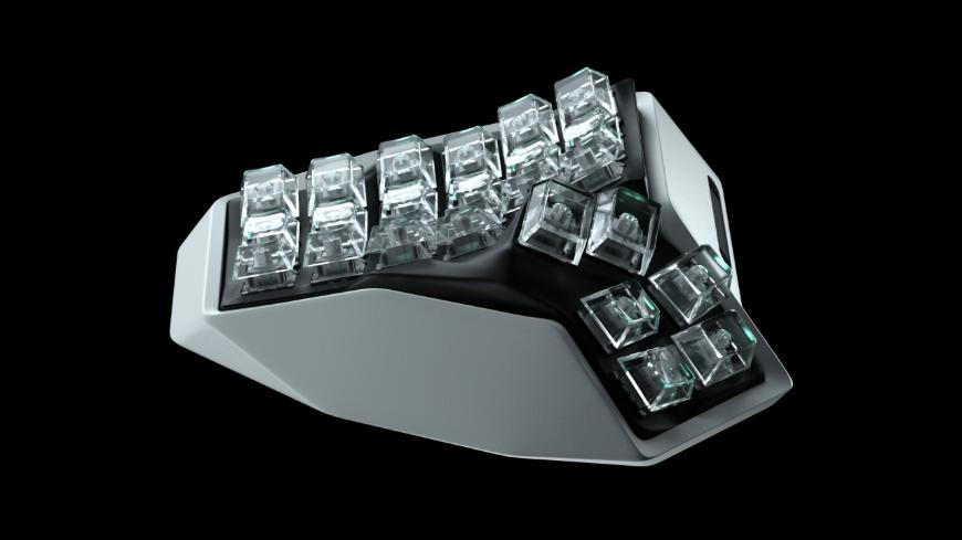 进入元世界的第一个硬件——第一款立体人体工学键盘